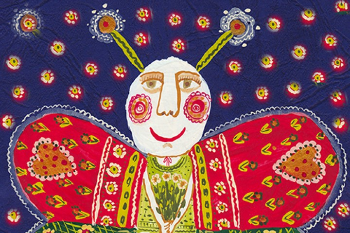 Folk Art prints on FineArtAmerica