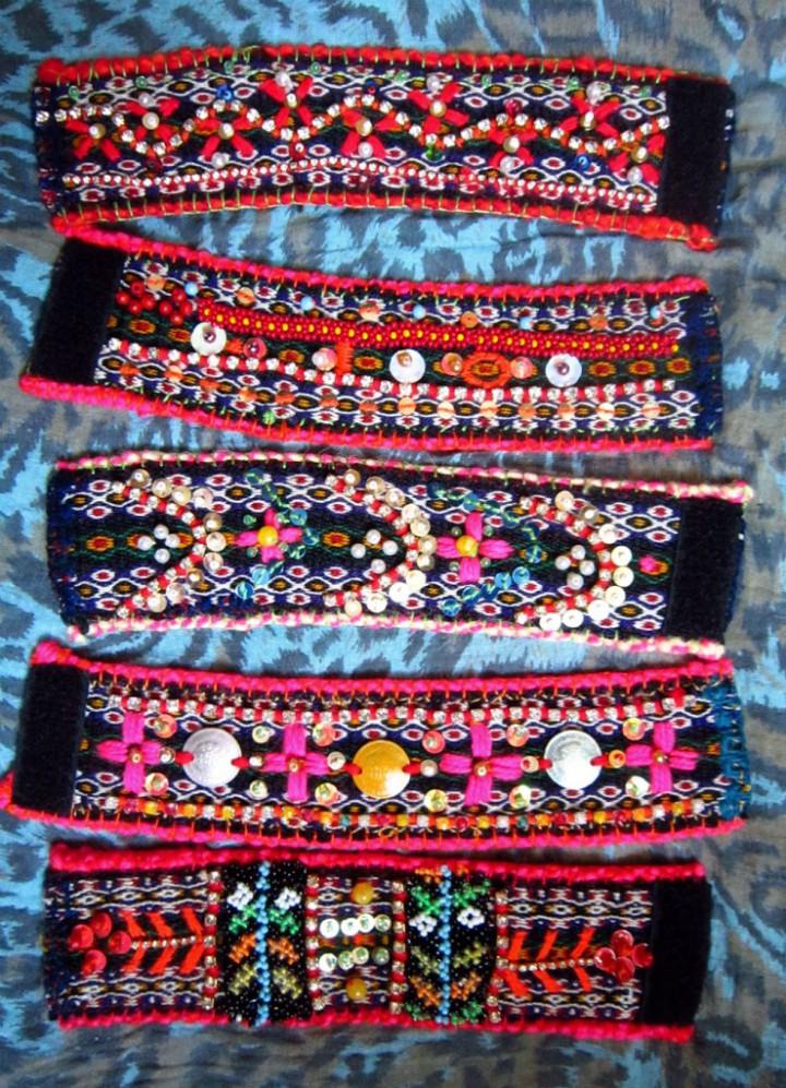 Ethnic cuffs